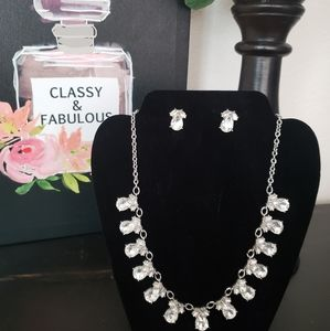 Tulip Statement Necklace & Earrings